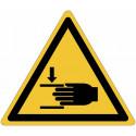 Признаки опасности ISO 7010 «дробление рук»-W024