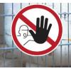 Señales de prohibición - Sólo personal autorizado venta en línea