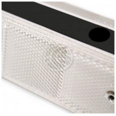 Weißer Reflektor Reflektor schwarz Kunststoff Wand Online