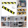 Bordillo de parada rueda de ebonita reflexivo para aparcamientos