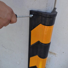 Kantenschutz-Protektoren Ebonit refraktiven Winkel Wände aus 30