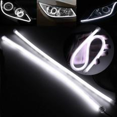 2 lampe 45 cm souple en silicone 57 LED DRL DC12V