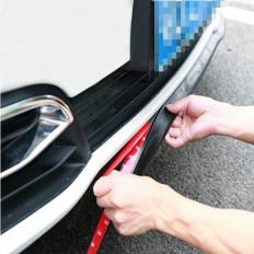 Protezione Universale labbro spoiler paraurti auto in gomma dura 2,5MT