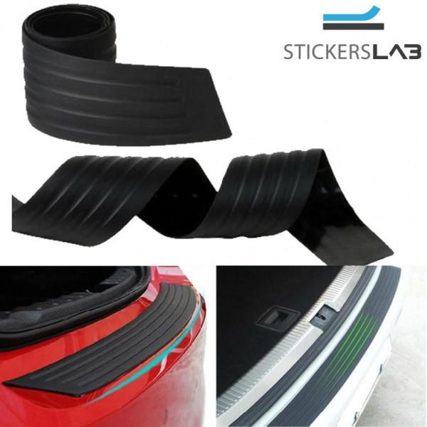 antigraffio per bagagliaio e portiera Protezione per paraurti posteriore in gomma nera universale accessorio per SUV//auto