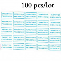 42 pieces stickers Labels tearing tamper tamper-proof adhesive 1 cm x 2, 5 cm