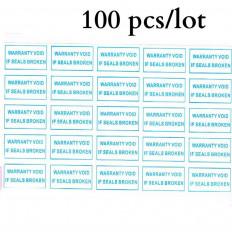 Etiquetas autocolantes de 42 peças rasgando calcadeira inviolável adesivo 1 cm x 2, 5cm