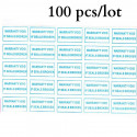 100-х клейкие этикетки этикетки уплотнения 10x20mm