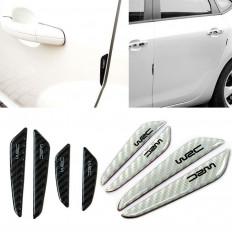 Protetores autocolantes para porteira de carro WRC em efeito