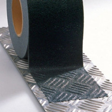Pisos de escaleras al aire libre de tiras de láminas adhesivas antideslizante Interior negro 25/50/230 mm