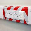 Retro-reflective tape white/red 50mm(5 cm)