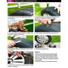 Labio de spoiler de coche de parachoques de goma dura USG 2, 5MT