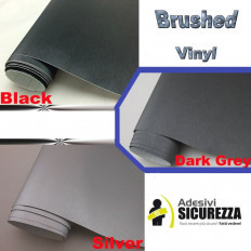 Brushed Gunmetal Aluminium Car Vinyl Wrap Film (Air Bubble