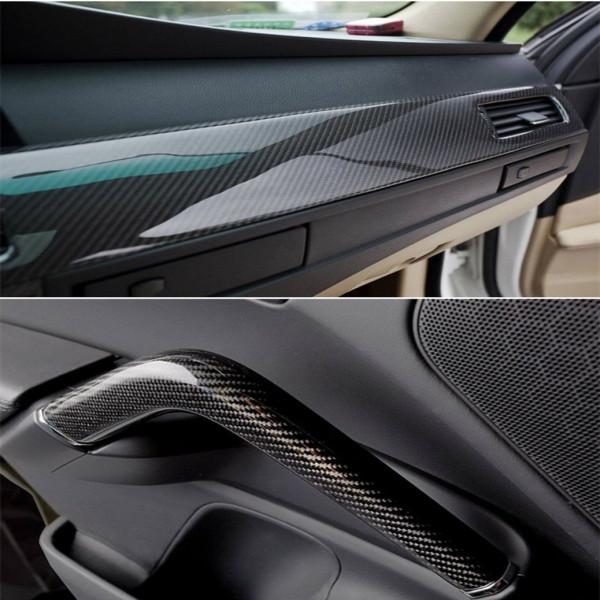 Pellicola Adesiva Per Interni Auto.Pellicola Car Wrapping Adesiva Carbonio 5d Lucida Di Alta Qualita Shop Online