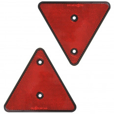 2 approved rear triangular red retro-reflectors Shop Online