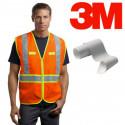 Fita adesiva prateada para costura da marca 3M™, serie 8906 - 50 mm