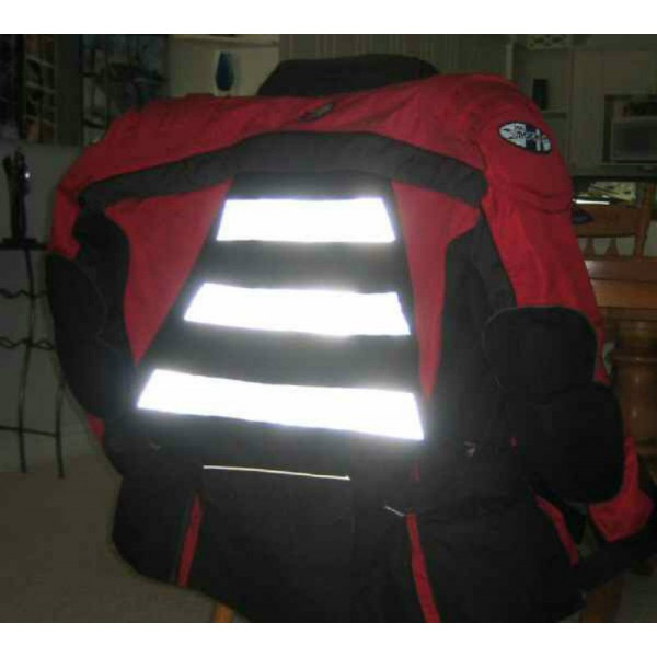 3m 8906 High Visibility Silver Reflective Fabric Sew On