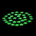 28 estrellas adhesivas fotoluminiscentes que brillan en la oscuridad