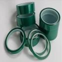 Зеленая лента силикона высокой температуры полиэстера 66mt