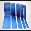 Cinta adhesiva azul verde en silicona de enmascaramiento para
