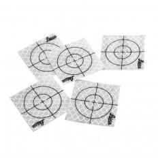 Reflektierende selbstklebende Ziel 30x30mm mit Fadenkreuz 20