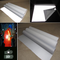 Отражающий лист швейных EN471 сертифицированных 100 см светоотражающая