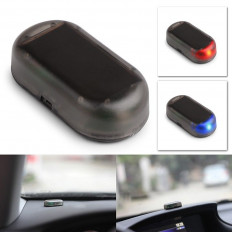 Simulador alarma de coche antirrobo con luz LED intermitente