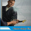 3 m ULTRA safety glass window Film anti shatter/S150 Transparent Pierce