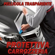 Pellicola protettiva antischeggiatura carrozzeria auto