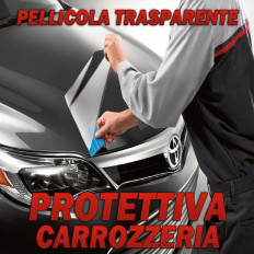 Transparent adhesive protective film antischeggiatura auto body