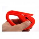 Cuchillo con hoja de aplicación para el corte del vinilo y para la envoltura automóvil