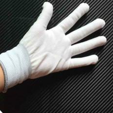Spezielle Handschuhe, professionelle nahtlose Stretchfolien