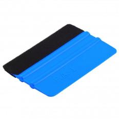 Spatola blu per car wrapping 3M™ PA-1 Carbonio 3D-4D con feltro