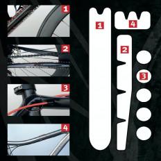 Kit SHELTER de protection du châssis pour vélo tout-terrain de