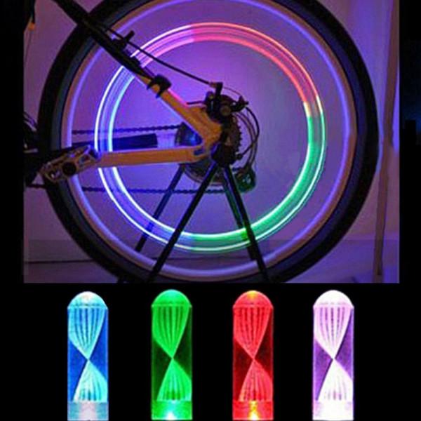 Valve De Clignotantes Pour Lampes Multicolore 2 Pneu Led Vélo O8wk0XnP