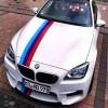 Глянцевый клейкий флаг BMW M series гоночный спорт для кузова