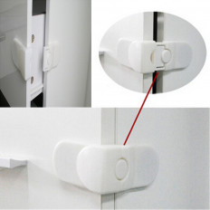 Bloqueios adesivos de segurança crianças para armários e