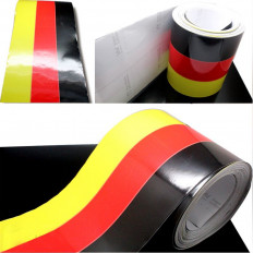 German flag band for BMW, Mercedes and Audi - 15cm