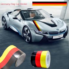 BMW M Series corrida esporte adesivo bandeira auto corpo 15 cm