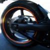 Selbstklebende Streifen Keplersches Bike Räder Marke 3 m ™ Reflexstreifen für Rad 6 x 7MT