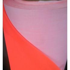 Hoja reflectante naranja fluorescente de coser homologada EN471