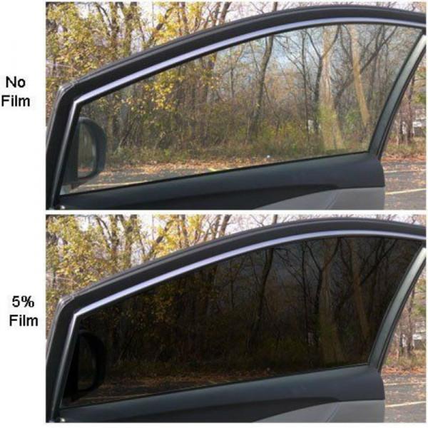 Pellicola Oscurante Per Vetri Auto Nera Scuro Passaggio