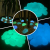 Phosphorescent glass flat stones glow in the dark Shop Online