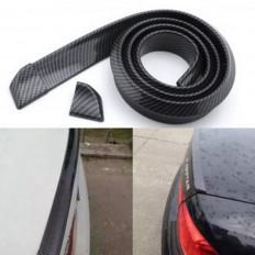 Protection pour arrière voiture en caoutchouc (modèle fibre de