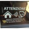 4 x сигнал GPS наклейки для мобильных сигнализация для
