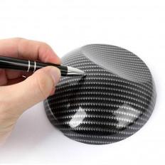 Stylo pour application d'adhésifs et l'élimination de bulles