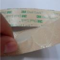 50/100 Cerchi di Velcro adesivo Dual lock SJ 4570 3M™ trasparente - 20mm