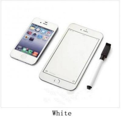 Magnete Iphone 6 Plus Da Frigo Con Sfondo Bianco Scrivibile Con Penna E