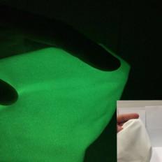 Tejido de coser en fieltro foto luminiscente que brilla en la