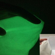 Tecido de costura em feltro foto luminiscente que se ilumina no