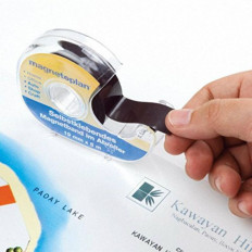 Self-adhesive Magnetic tape for photos with dispenser